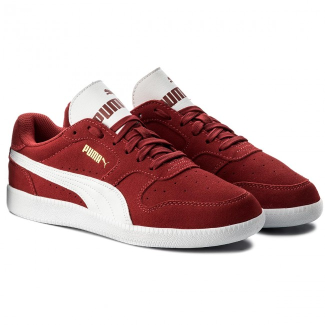 PUMA Men's Icra Trainer Classic Sneakers Shoes Black, Gray and Red