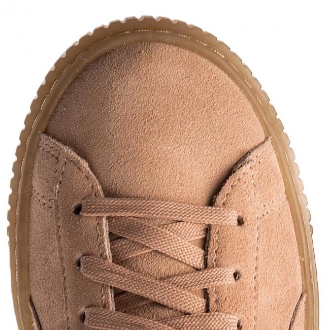 Sneakers PUMA Platform Jewel Jr 365131 01 Peach BeigePeach Beige