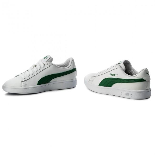 fc4ab956f74 Sneakers PUMA - Smash Vl L 365215 03 Puma White Amazon Green ...
