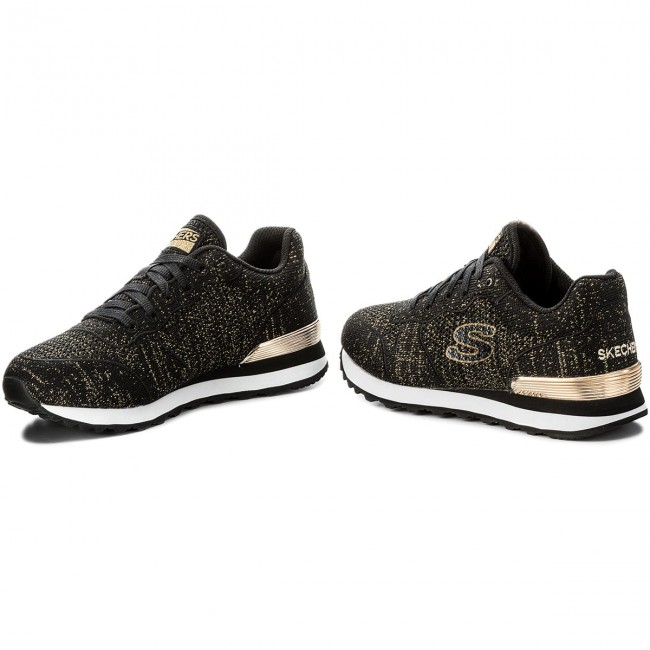 Sneakers SKECHERS - Low Flyers 709/BKGD Black/Gold yu2ps