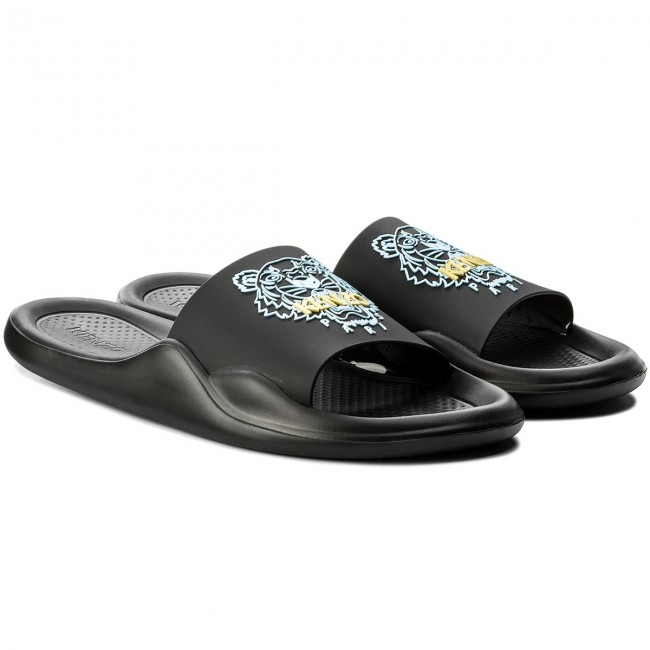 73495700 Slides KENZO - F855SD104P71 Noir 99 - Clogs and mules - Mules and sandals - Men's  shoes - www.efootwear.eu