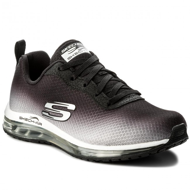 Shoes SKECHERS Skech Air Element 12640/BKW Black/White Brand Sports Shoes For Female