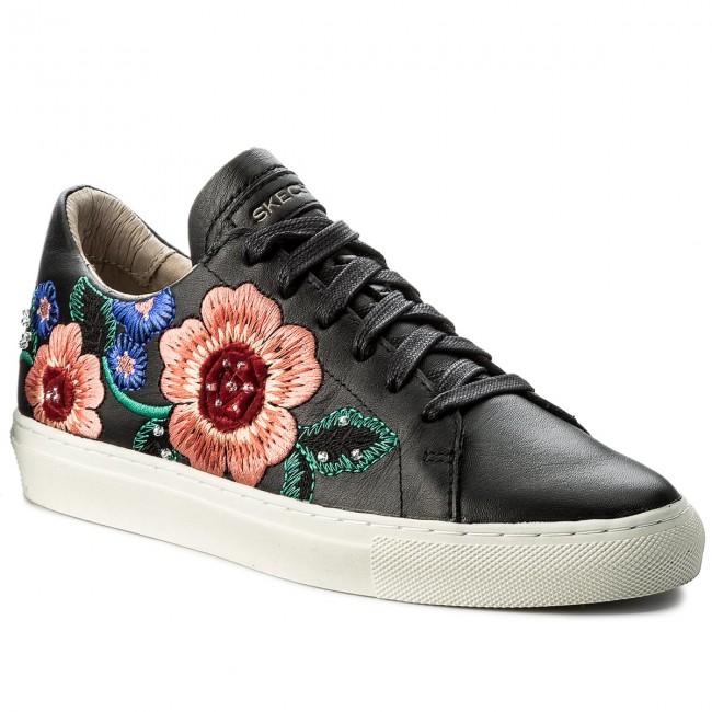 54f8660268779 Sneakers SKECHERS - Flor 48876 BLK Black - Sneakers - Low shoes ...