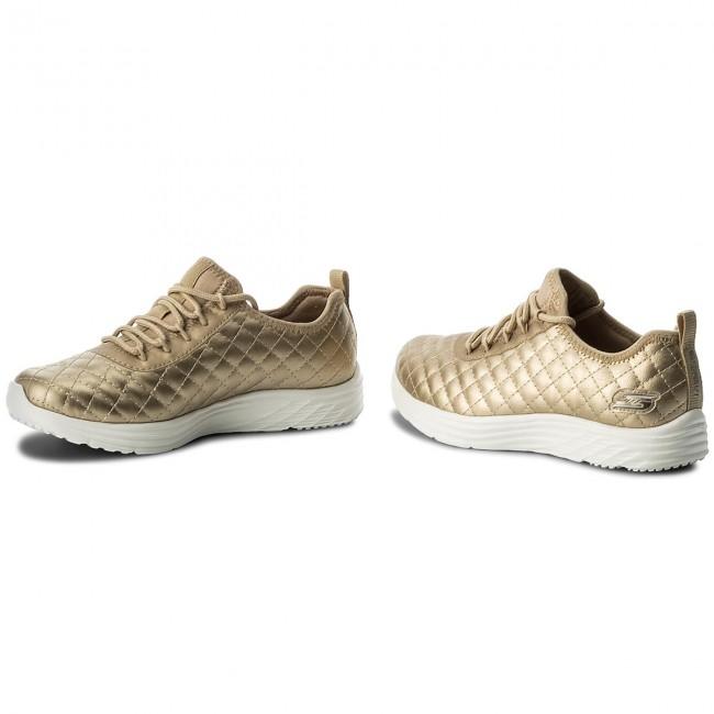 9f7e3271043a Shoes SKECHERS - BOBS SPORT Social Hustle 31354 GLD Gold - Fitness ...