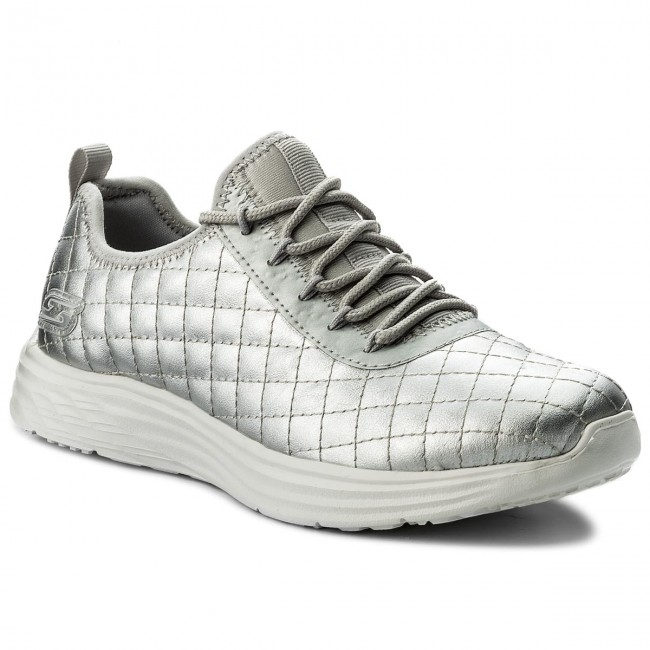 Zapatos Skechers - Bobs Sport Social Hustle 31354/sil Silver EHGE2hE