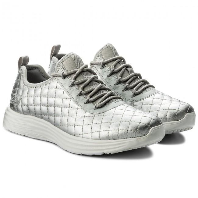 97483f90af91 Shoes SKECHERS - BOBS SPORT Social Hustle 31354 SIL Silver - Fitness - Sports  shoes - Women s shoes - www.efootwear.eu