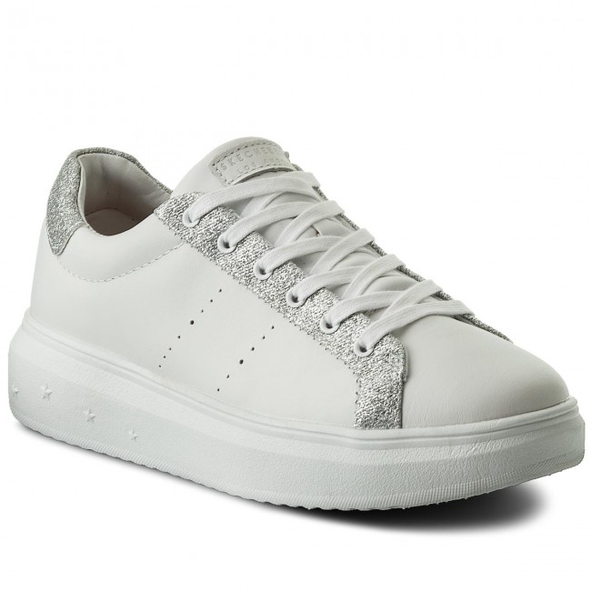 1f56769a30 Sneakers SKECHERS - Glitter Highway 73695/WSL White/Silver ...