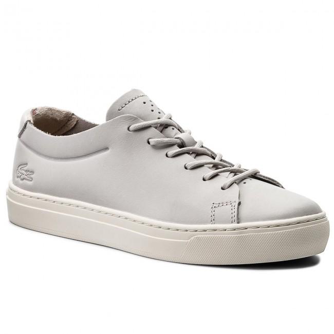 b9d68d22349ec Sneakers LACOSTE - L.12.12 Unlined 118 2 Caw 7-35CAW0017235 Lt Gry ...