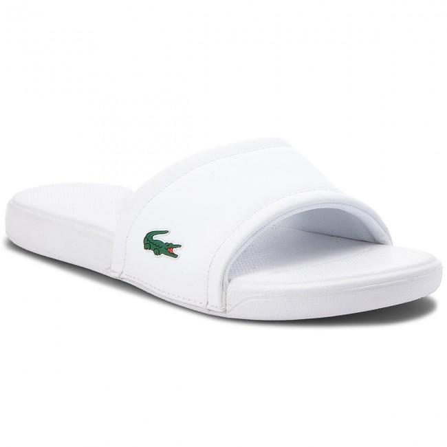 15478545f0b87 Slides LACOSTE - L.30 118 1 CAJ 7-35CAJ001121G White White - Casual ...