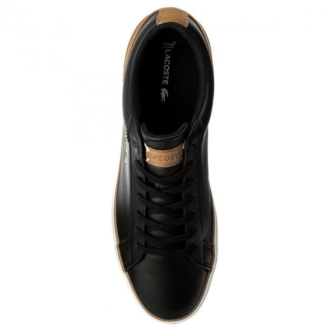 Sneakers LACOSTE - Lerond 118 1 Cam 7-35CAM0074CA1 Black/Light Brown L1z1Qej