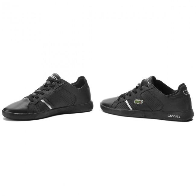 b1f0e4aae Sneakers LACOSTE - Novas Ct 188 2 Spm 7-35SPM004022F Blk Slv ...