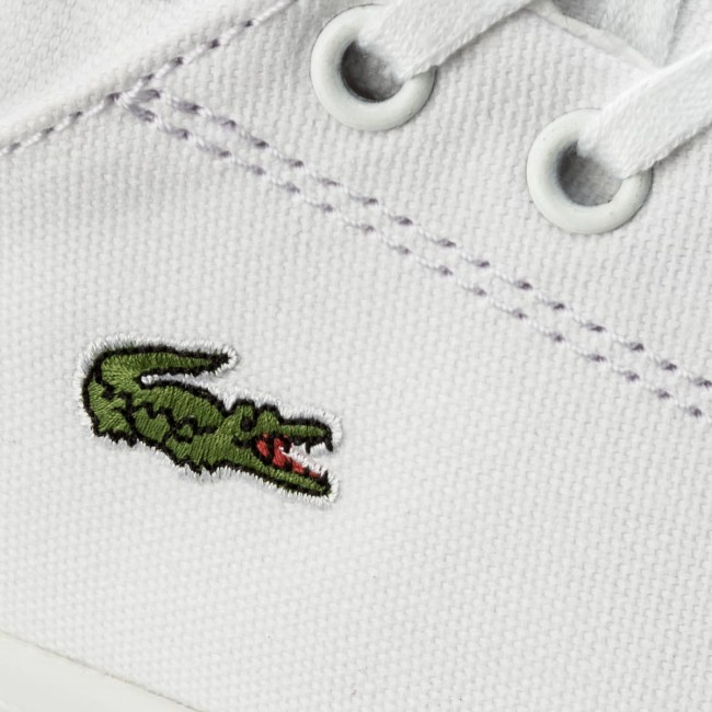 5378f8224880a Plimsolls LACOSTE - Straightset Bl 2 Spw 7-32SPW0134001 Wht ...