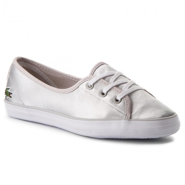 Plimsolls LACOSTE - Ziane Chunky 118 2 Caw 7-35CAW00752Q5 Lt Gry Wht ... 88fd0c3e88