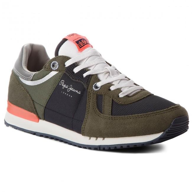 Sneakers PEPE JEANS - Tinker 1973 PMS30415 Khaki Green 765 De Bajo Costo Para La Venta 2DCZQ