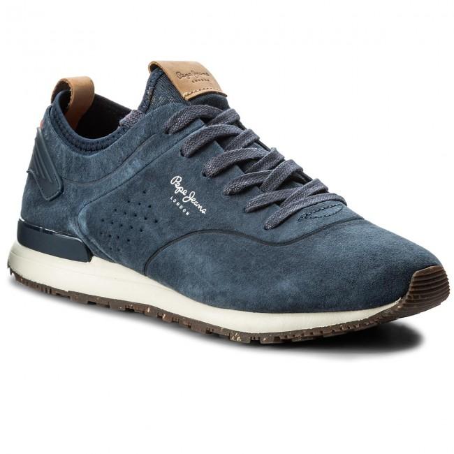 016e3ac8e3c Sneakers PEPE JEANS - Boston Smart PMS30406 Navy 595 - Sneakers ...
