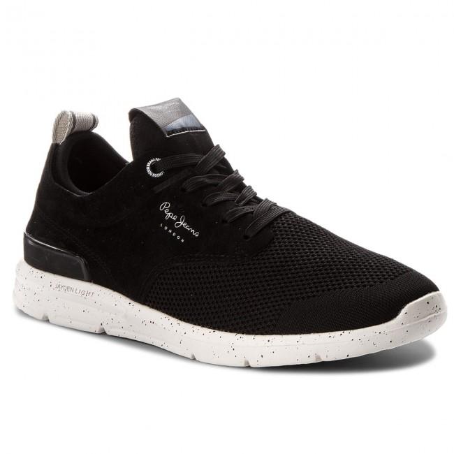 Sneakers PEPE JEANS - Jayden Tech PMS30410 Black 999 Salida Amplia Gama De Para La Venta En Línea Agradable 5KT45Fg