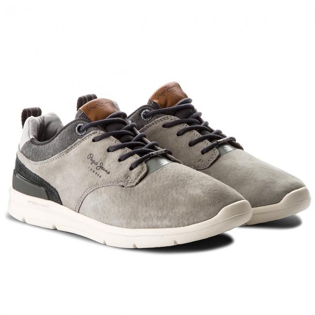 97ce3e00484 Sneakers PEPE JEANS - Jayden 2.1 PMS30409 Grey 945 - Sneakers - Low ...