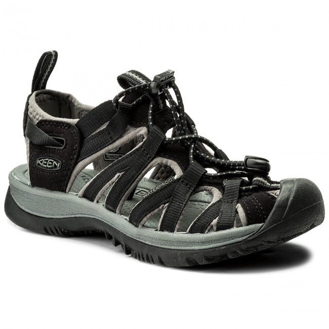 Sandals KEEN - Whisper 1003709 Black Gargoyle - Casual sandals ... a9c0acbbe8a9