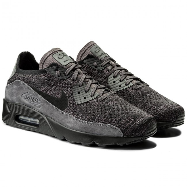 Shoes NIKE - Air Max 90 Ultra 2.0 Flyknit 875943 008 Thunder Grey/Black Dark Grey