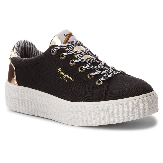 Sneakers PEPE JEANS - Frida Mirrow PLS30686 White 800