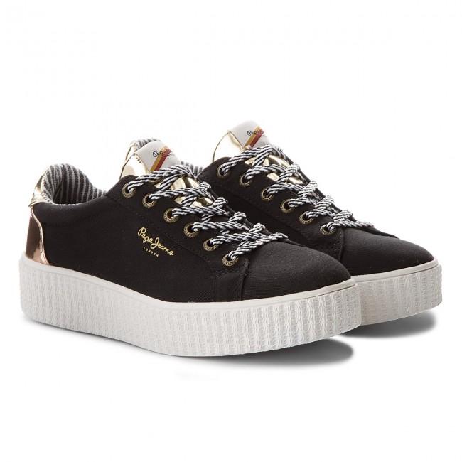 Verkauf 2018 Online Bestellen Sneakers PEPE JEANS - Frida Mirrow PLS30686 White 800 tZbpx