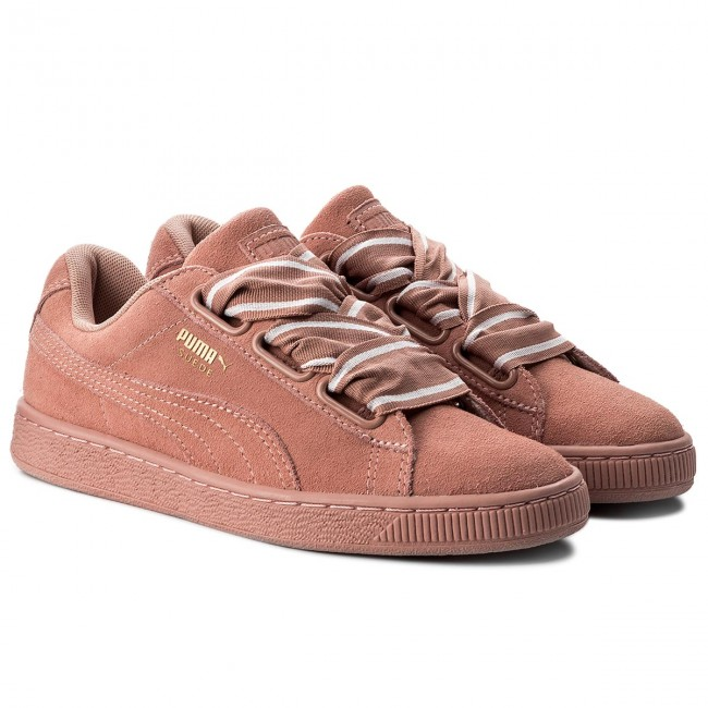 Sneakers PUMA Suede Heart Satin II 364084 03 Cameo Brwon