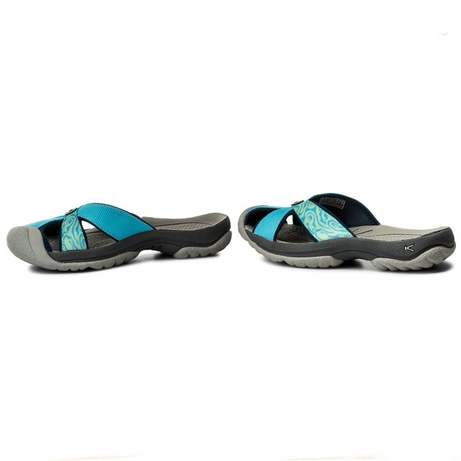 15def4385c96 Slides KEEN - Bali 1018223 Norse Blue Blue Opal - Casual mules ...