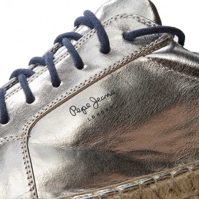 56276215692 Espadrilles PEPE JEANS - Andy Metal PLS10357 Silver 934 ...