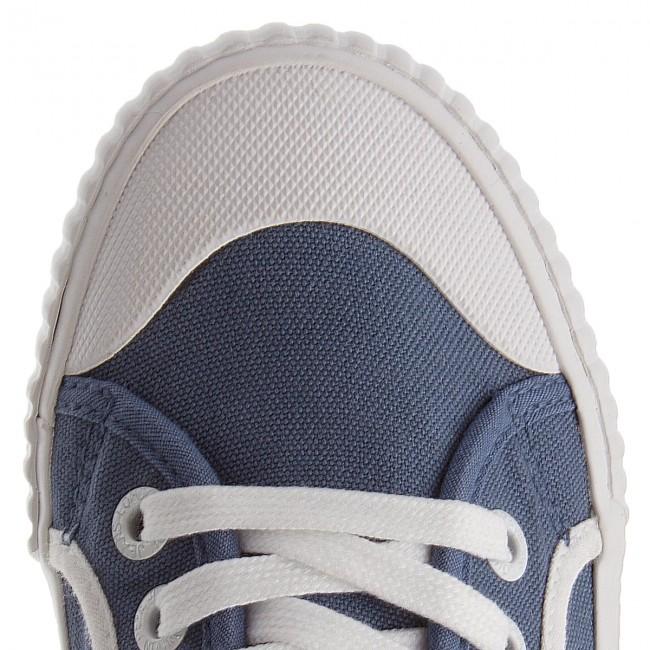 Pepe Footwear PLS30613 INDUSTRY PLAIN 532-soho-blue Damen Schuhe Sneaker