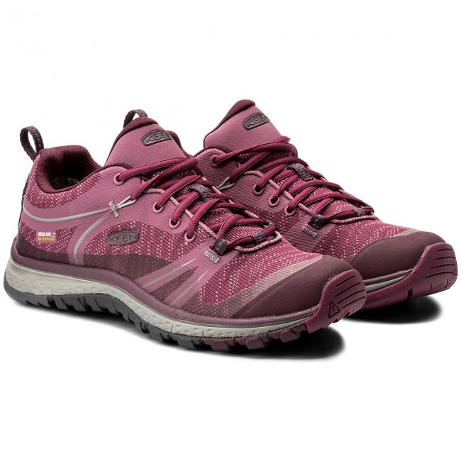 8156c78782f Trekker Boots KEEN - Terradora Wp 1018531 Boysenberry/Grape Wine