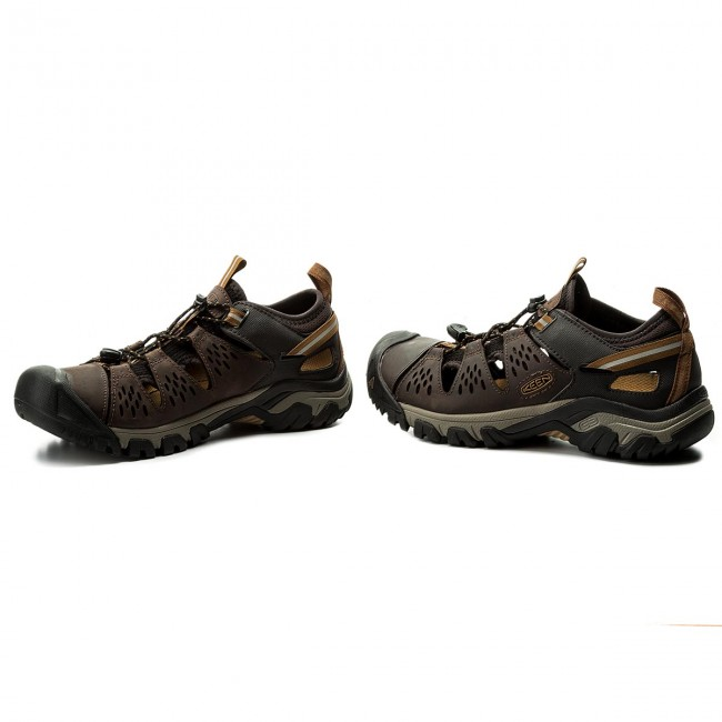 401c9e352f01 Sandals KEEN - Arroyo III 1018594 Cuban Golden Brown - Sandals ...