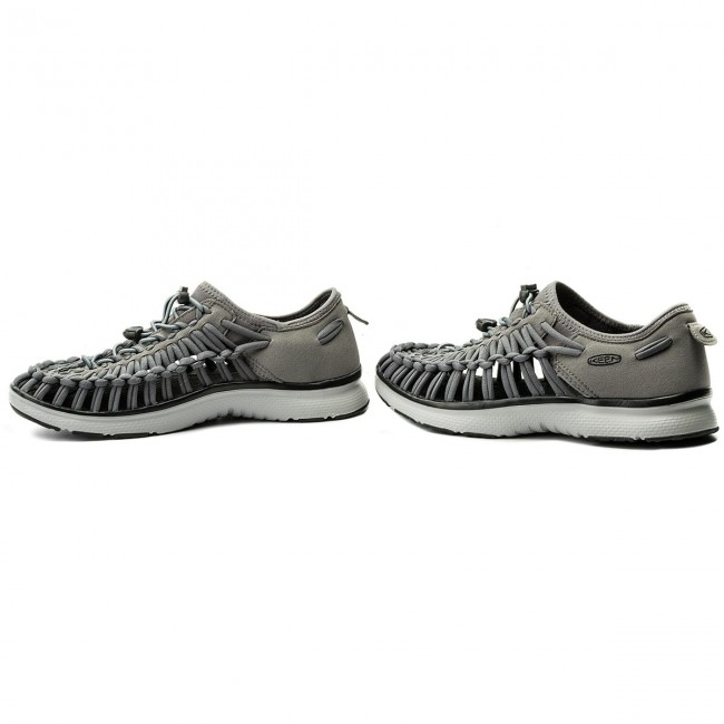 b647abf87ee Sandals KEEN - Uneek 02 1018719 Steel Grey Raven - Sandals - Mules ...