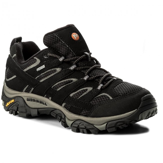 Trekker Boots MERRELL - Moab 2 Gtx GORE-TEX J06037 Black - Trekker ... 87fb491aac4