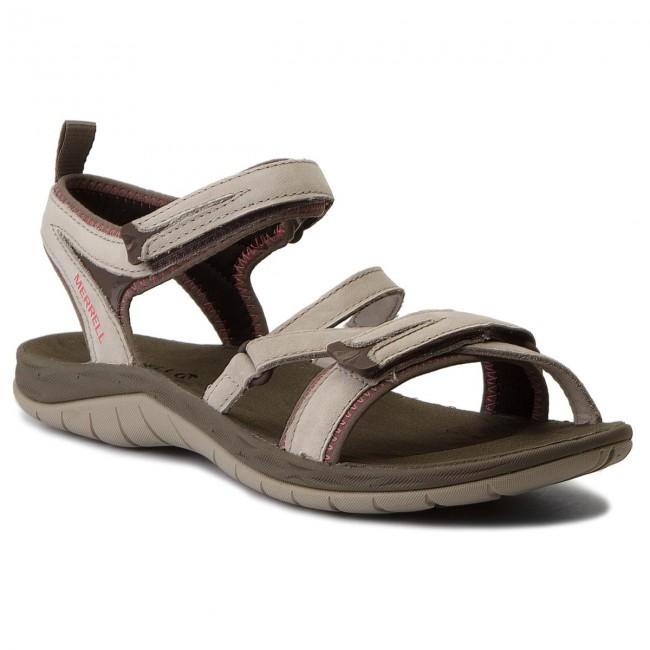 Sandals MERRELL - Siren Strap Q2 J37492 Aluminium - Casual sandals ... 436646e380