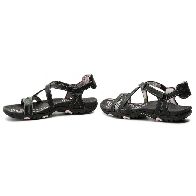 2dcef1d4962d Sandals MERRELL - Sandspur Rose Ltr J289635C Black Lilac - Casual ...