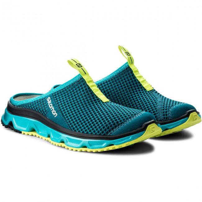 salomon rx slide 3.0 slipper clogs schwarz low