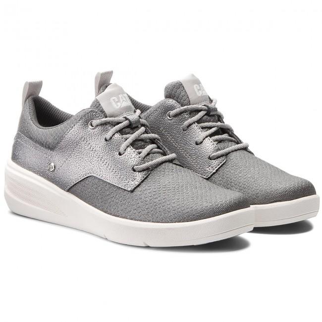 f4990830 Sneakers CATERPILLAR - Glint Canvas P310309 Silver - Sneakers - Low shoes -  Women's shoes - www.efootwear.eu