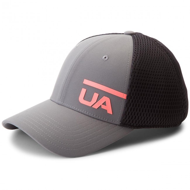 8a5f9ac4145 Cap UNDER ARMOUR - Ua Train Spacer Mesh Cap 1305446-040 Black Grey ...
