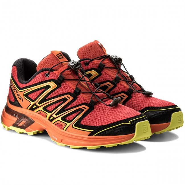444694e67fd4 Shoes SALOMON - Wings Flyte 2 400706 29 W0 Barbados Cherry Scarlet  Ibis Sulphur Spring - Outdoor - Running shoes - Sports shoes - Men s shoes  ...