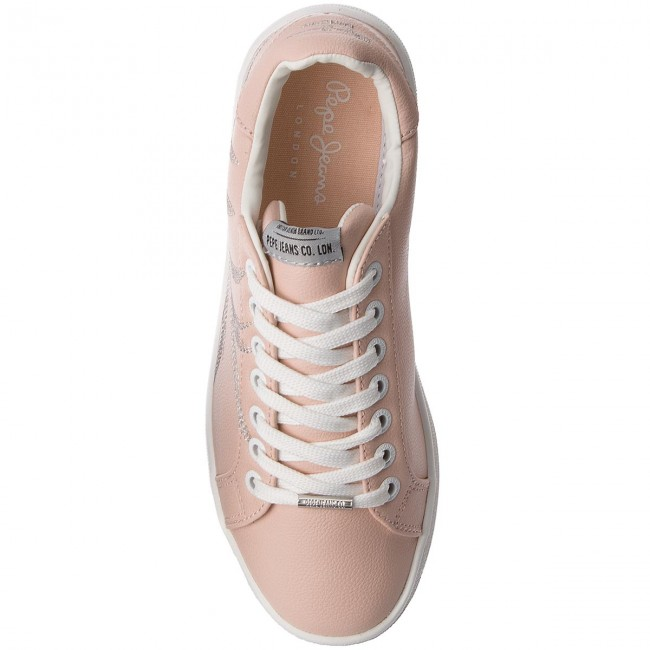 Sneakers PEPE JEANS - Brompton Embroidery PLS30671 Mauve Pink 319 kW5DQa22