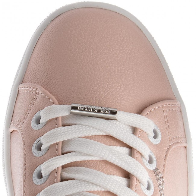 Sneakers PEPE JEANS - Brompton Embroidery PLS30671 Mauve Pink 319 VOIK6P8h