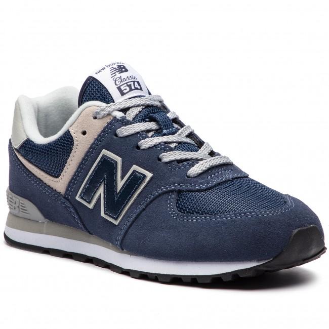 Sneakers NEW BALANCE - GC574GV Navy Blue - Sneakers - Low shoes ... 4ca0de12c09