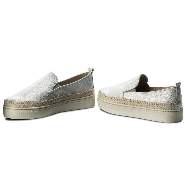 Espadrilles THE FLEXX - Gluglu D1029/01 Silver