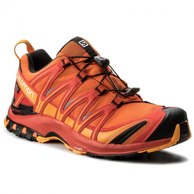 Salomon XA PRO 3D GTX - Trail running shoes - scarlet ibis/fiery red/bright marig 8yxAesTss