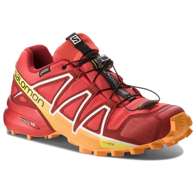 9ce10d567119 Shoes SALOMON - Speedcross 4 Gtx GORE-TEX 400932 27 G0 Fiery Red Red ...