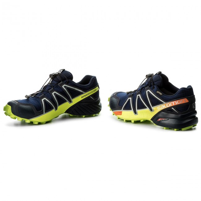 6d9bc13c2136 Shoes SALOMON - Speedcross 4 Gtx GORE-TEX 400938 27 V0 Medieval Blue Acid