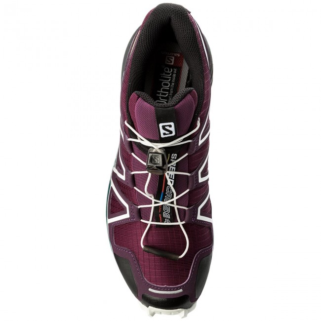 f02aafd79a8d Shoes SALOMON - Speedcross 4 W 401361 23 V0 Dark Purple White Deep Lake -  Trekker boots - Low shoes - Women s shoes - www.efootwear.eu
