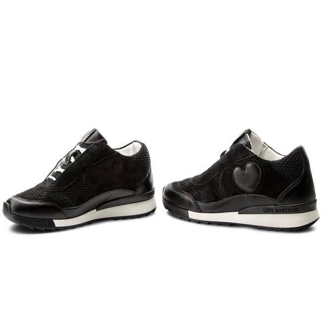 Sneakers LOVE MOSCHINO - JA15294G05JG200A Cro Vit/Ret. Nero
