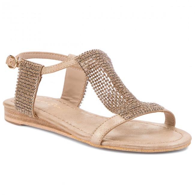 Alma en Pena Wedge sandals - gold oporto 1fOv0e8x