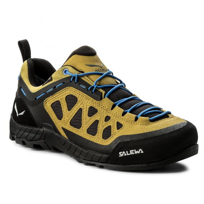 Salewa MS FIRETAIL 3 GTX - Hiking shoes - golden palm/black out 1HDXcb1